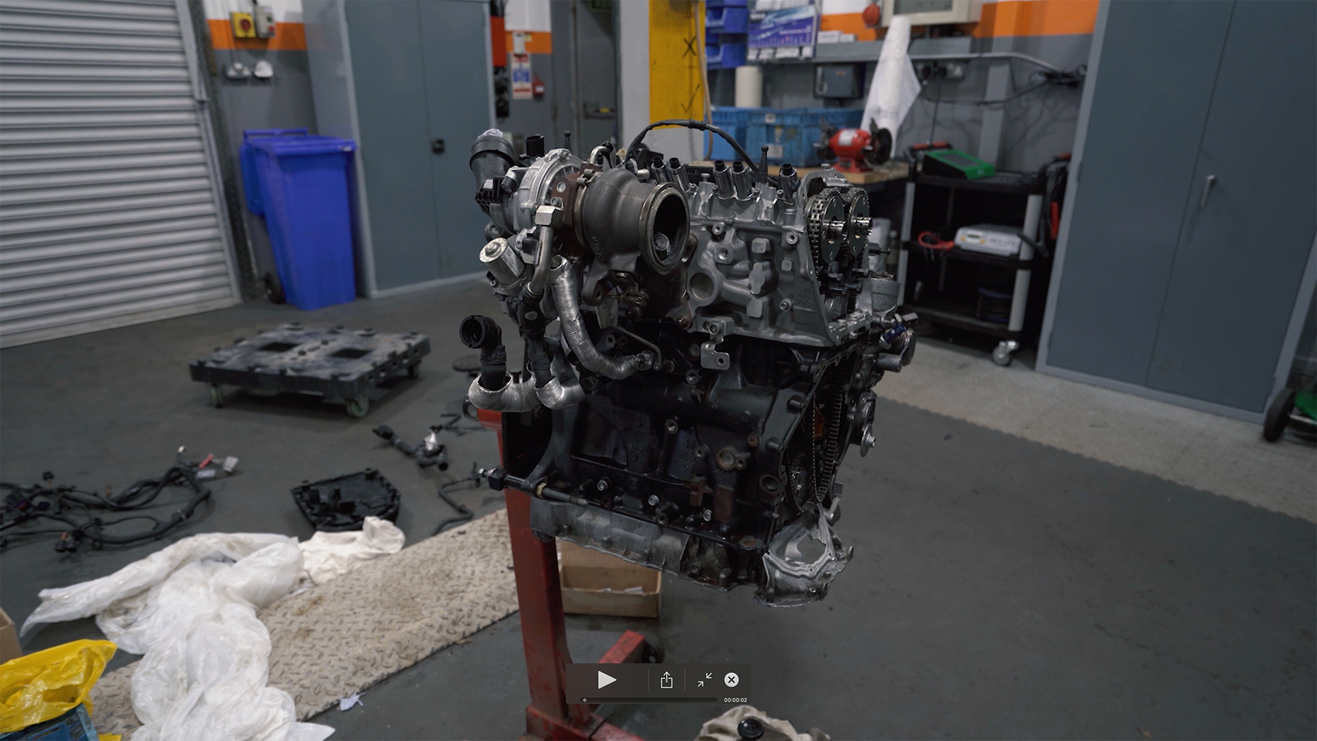 2.0L TFSI Engine Rebuild (Question of the week 11)